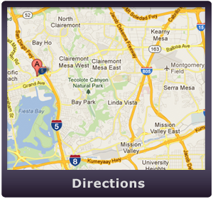 Google Map to our San Diego Live Scan & FD-258 Ink Card Fingerprint Location