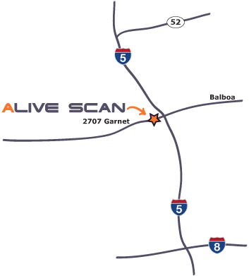 Live Scan & Ink Fingerprinting - San Diego Location 92109